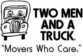 twomen and truck