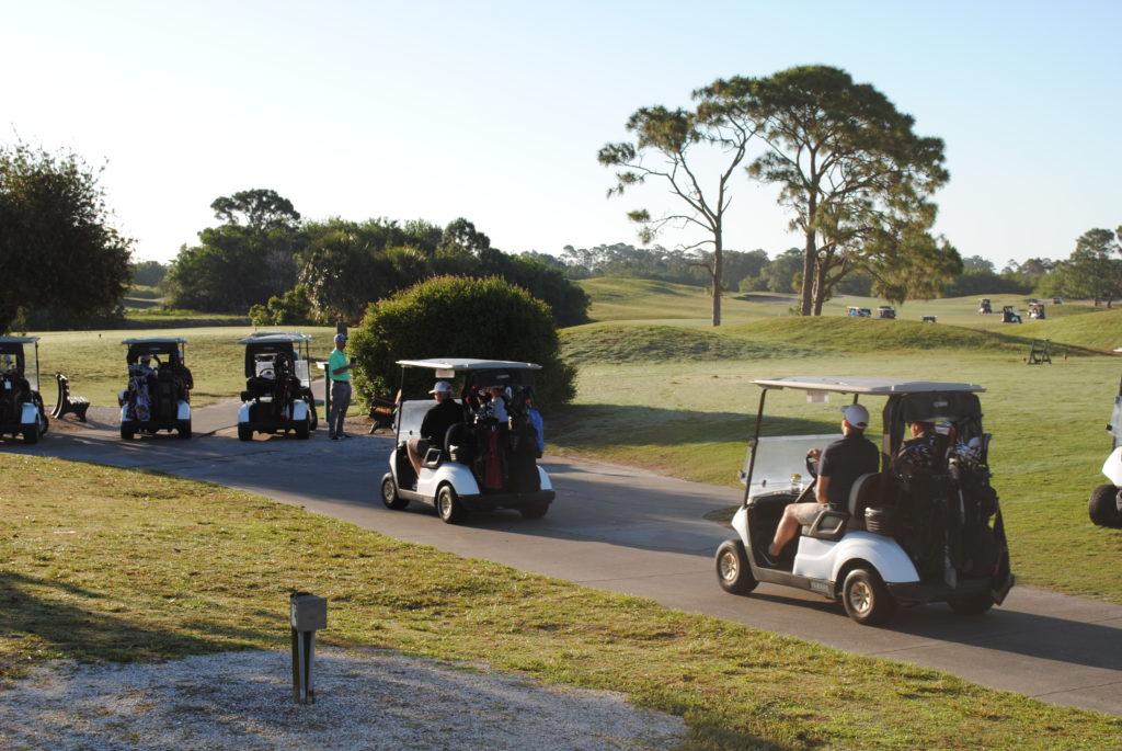 Golf Scramble Begins