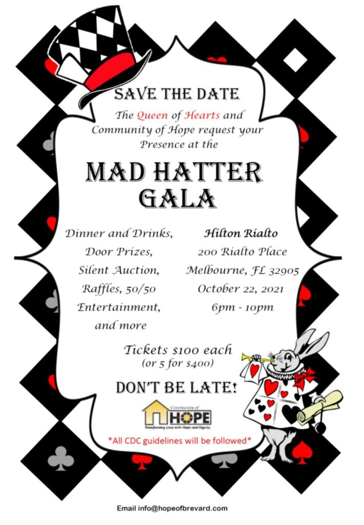 Gala Save the Date Oct. 22, 2021