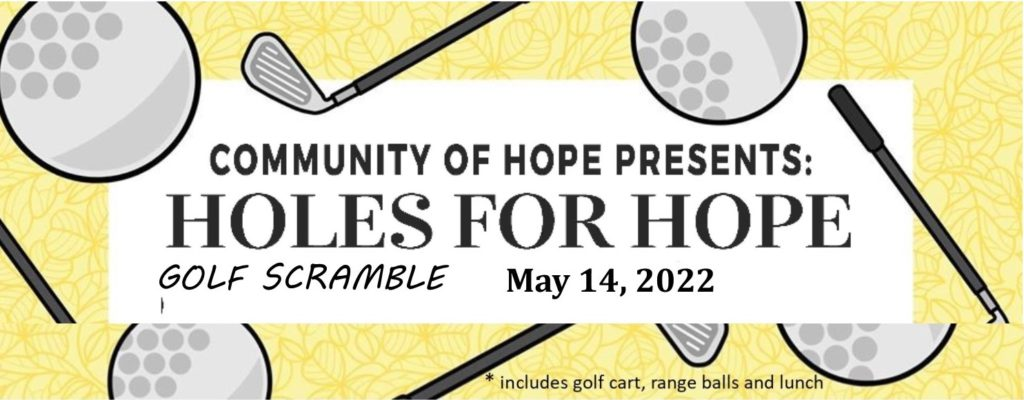 2022 Holes for hope flyer
