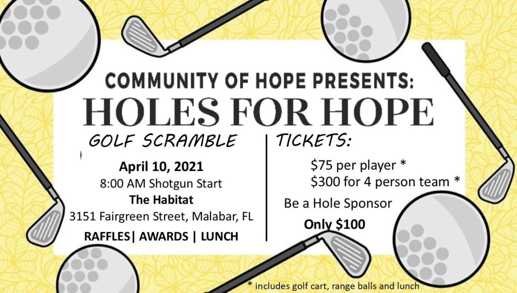 Holes for Hope Flyer